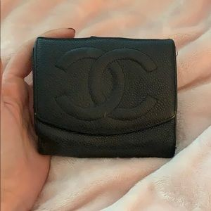 Vintage Chanel wallet authentic 100%